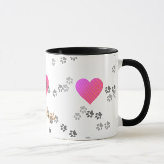 Love dogs - Mug - template