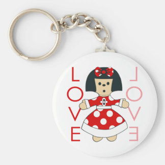 Love Doll Key Chain