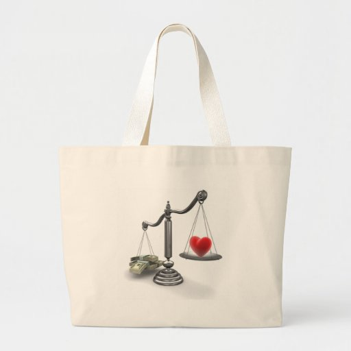 Love don't weigh a thing bag