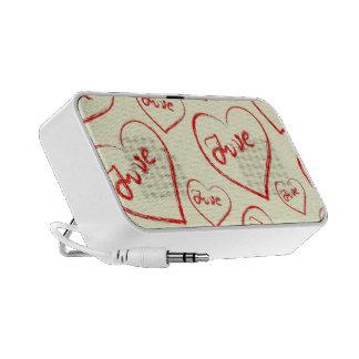 Love Doodle Custom Speaker