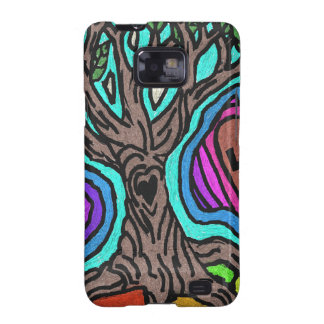 Love doodle tree samsung galaxy SII cover