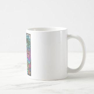 Love doodle tree coffee mug
