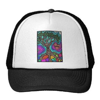 Love doodle tree hat