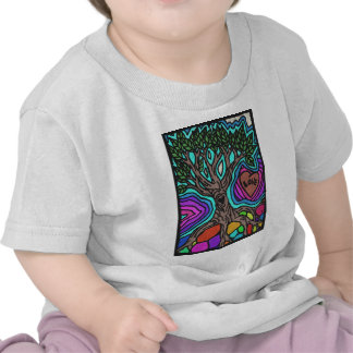 Love doodle tree t-shirt
