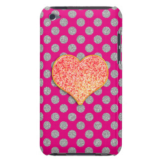 LOVE DOTS -Custom Your Color- iPod Touch, Barely Barely There iPod Case