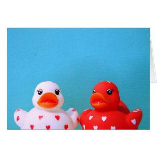 Love Ducks Card