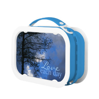 Love Each Day Spring Sky Lunchbox
