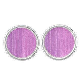"""""""LOVE Earrings"""" Purple artistic Cuff Links"""