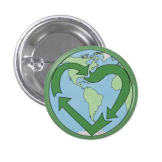 Love Earth Recycle Pin