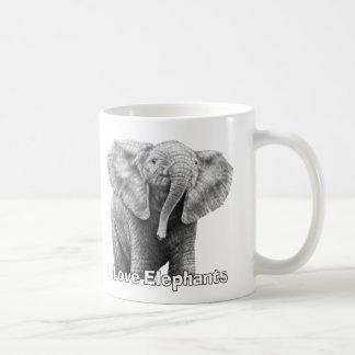 Love Elephants Mug
