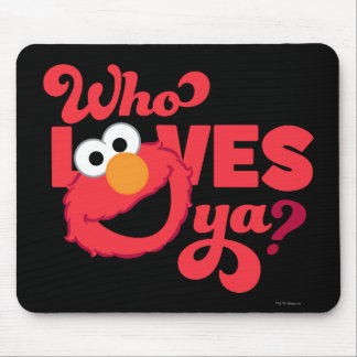 Love Elmo Mouse Pad
