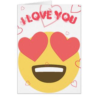 Love Emoji Card