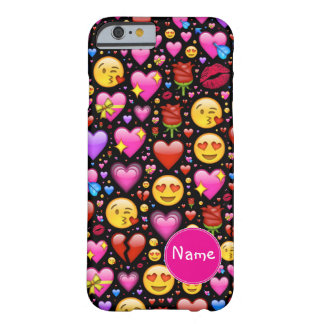 Love Emoji Customized Barely There iPhone 6 Case