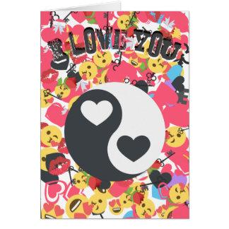 Love Emoji Valentine Card