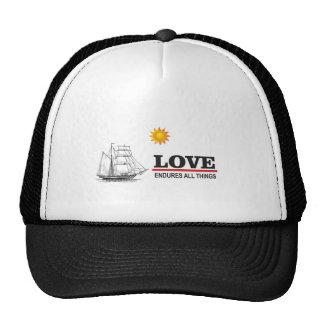 love endures all things cap
