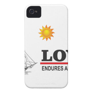 love endures all things iPhone 4 case