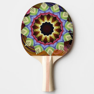 Love Energy Mandala Ping Pong Paddle
