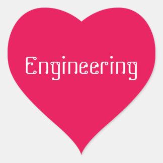 "Love ""Engineering"" Stickers"