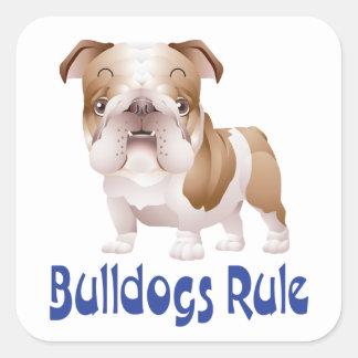 Love English Bulldog Puppy Dog Sticker / Seal Sticker