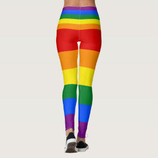 Love Equality Rainbow Flag LGBT Lesbian Gay Pride Leggings