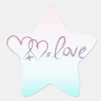 Love Equation Star Sticker