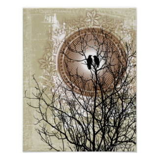 Love Eternal Gothic Art Poster