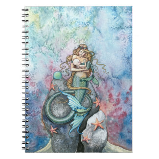 Love Eternal Mermaid and Baby Notebook
