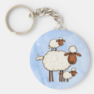 love ewe (no txt) key ring