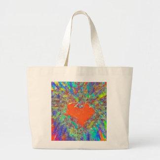 Love Explosion tote bag