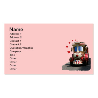 Love Express Train Pack Of Standard Business Cards