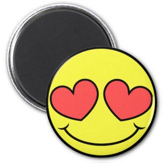 Love Face Magnet