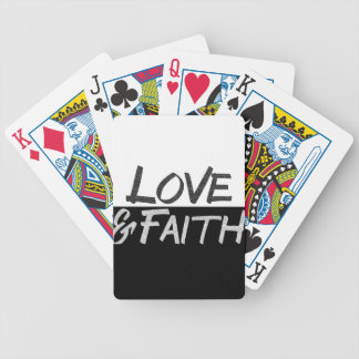 """Love & Faith"" Inspirational T-Shirt Poker Deck"