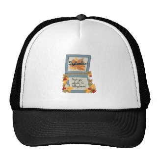 Love Fall Mesh Hats