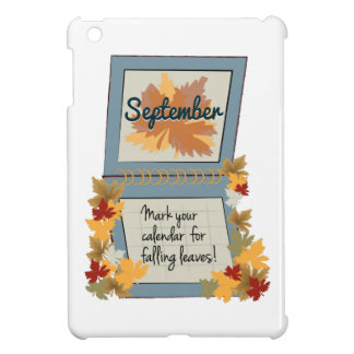 Love Fall iPad Mini Cover
