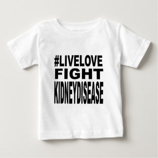 Love Fight Kidney Disease. Baby T-Shirt