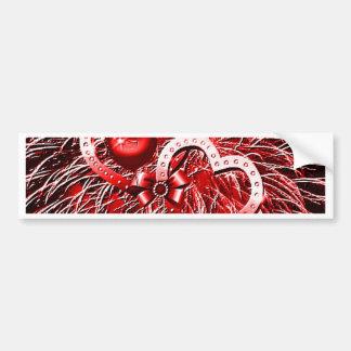 Love Fireworks,red Bumper Stickers