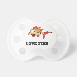 love fish pacifiers