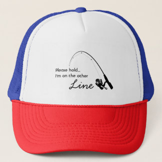 Love fishing - On the other Line Trucker Hat
