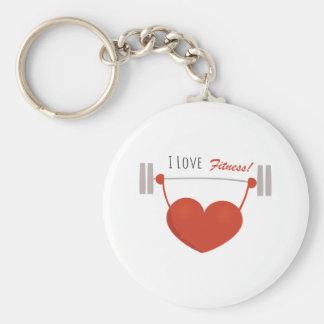 Love Fitness Key Chain