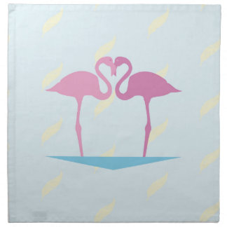 Love Flamingos Napkin