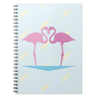 Love Flamingos Notebook