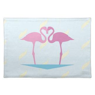 Love Flamingos Place Mat