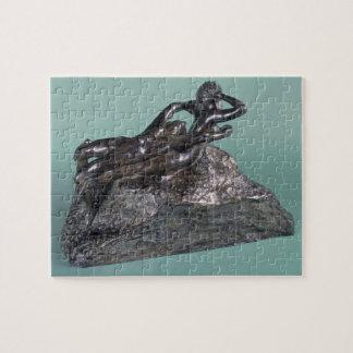 Love Fleeing, 1883-84 (bronze) Jigsaw Puzzle