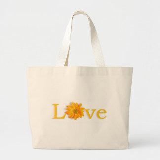 Love Flower Jumbo Tote Jumbo Tote Bag
