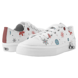 Love Flowers Printed Shoes