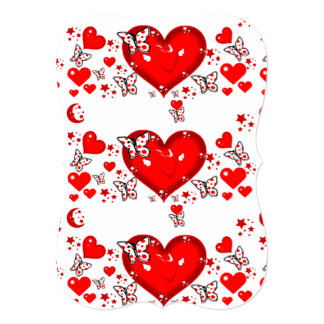 Love Flows_ 13 Cm X 18 Cm Invitation Card