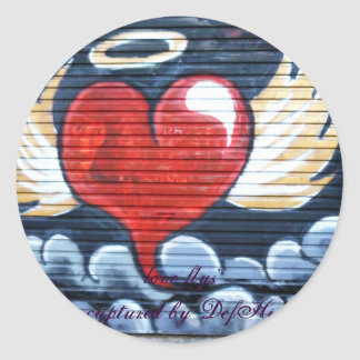 love fly's sticker