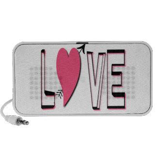 Love Font Speakers