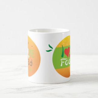Love food double design mug