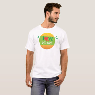Love food double design tshirt